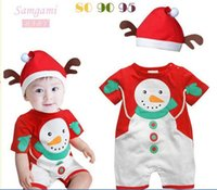 Cheap 2013 Christmas cartoon baby rompers,new 3 lot wholesale,Christmas hooded clothing,100%cotton,baby clothing free shippinhg