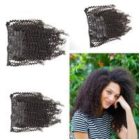 best head sets - 2015 Best Selling Burmese Virgin Hair Clip In Human Hair Extensions Full head Set NATURAL BLACK Clip In Human Hair