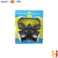 Cheap Freeshipping Industrial safety equipment, Gas Mask, Face Mask protection filter