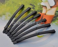 Wholesale set of sturdy strong metal hair clips black clips bobby pin black bobby pin x4mm lead and nickle free