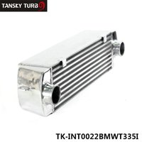 Wholesale TANSKY High Quality TURBO INTERCOOLER for BMW i i E90 E92 N54 BLUE TK INT0022BMWT335I