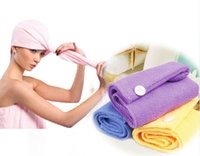 Wholesale Portable High Quality Lady s Magic Hair Drying Hat Quick Dry Bath