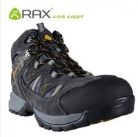 Wholesale Rax Walking Hiking Shoes For Men Genuine Leather Waterproof Breathable Bicycle Motorcycle Boots Outdoor Winter Sports Trekking