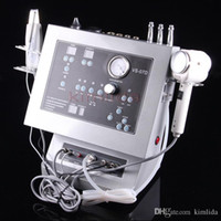 Wholesale Fast shipping in DIAMOND MICRODERMABRASION Facial Ultrasonic Ultrasound Skin Scrubber Dermabrasion Peeling beauty equipment Machine