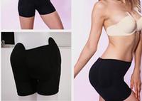 padded panties - Butt Hip Up Padded Panties Seamless Soft Underwear Butt Hip Up Padded Enhancer Shaper b sponge pad