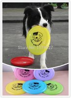 Wholesale Plastic Puppy toy Dog Frisbee Flying DiscTooth Resistant Outdoor Large Dog Training Toy