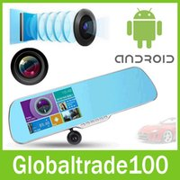 Cheap Gps Navigator android car mirror Best Lexus Romanian gps navigation