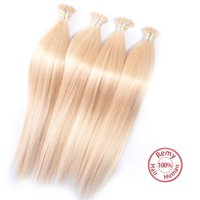 Malaysian I Tip Hair Extensions 6