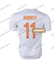 sports jersey - new thai quality customized netherlands robben away athletic soccer jerseys sports white discount cheap football jerseys shirts top