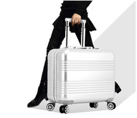 Wholesale High Grade Aluminum quot CARRY ON WHEEL SPINNER TRAVEL CASE