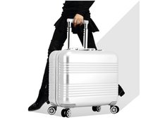 Wholesale High Grade Aluminum inch CARRY ON WHEEL SPINNER TRAVEL CASE