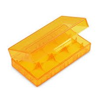 Wholesale 10PCS Hard Plastic Battery Case Holder Storage Colorful Box For CR123A battery with mix color