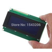 Wholesale 20X4 Character LCD Module Display Blue Backlight For Arduino LCD HD44780 small order no tracking