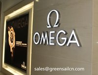 Wholesale lighted signs led logotypes channel letters light box outdoors banner customized