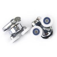 Wholesale x pair Shower Door Roller Runner Wheel mm Wheel Diameter order lt no track