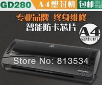 Wholesale Intelligent gd280 laminator a4 laminating machine laminator sealed plastic machine hot and cold menbrane machine