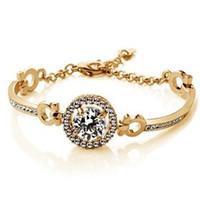 Wholesale Top Grade Rushed Silver Bangle Bracelets Hot Sale Fashion Crystal Cuff Bracelet Bangles for Women Men Girl Free ship GXB