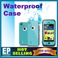 Wholesale For iphone S S iphone case life Water proof Case Retail Packaging Waterproof case red pepper free DHL Hot selling