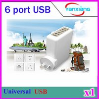 anker charger - CHPORT Multi Port USB Charger Desktop for Apple iPhone Samsung Galaxy S6 Edge More Anker charger Same ZY USB