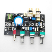 bass amplifier kit - LM1036 DC tone board with bass and treble adjustment preamplifier DIY Kit free shiping Amplifier Cheap Amplifier