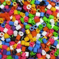 Wholesale 5mm Mixed Colors Hama Bead Designs EVA Perler Beads Iron Beads Diy Educational Toys Creative Art Bead