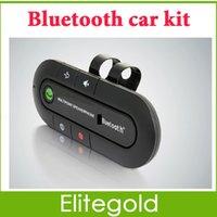 Wholesale Bluetooth Car Kit Handsfree Speaker for Car Wireless Hands Free Speakerphone Retail Package