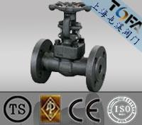 forged flange - Flanged connection forged steel flange gate valves_Class150 _10k k
