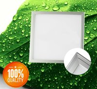 Wholesale 100 Performance LED Recessed Ceiling Panel Light Bulb Lamp Square decoration light V LED Panel Lights New