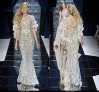 Cheap Beaded Evening Dresses Best Zuhair Murad Dresses