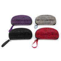 Wholesale Colors Portable Fashion Style Hard Zipper Case Box for Glasses Eye Glasses Sunglasses Accessories
