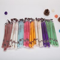Wholesale 100pairs Indian Ear Candles With Earplug Fragrance Ear Candle Straight Type Color pair