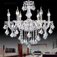 Wholesale Modern crystal chandelier Light Chandelier Crystal Light lighting modern brief fashion art pendant light Living room bedroom lamp