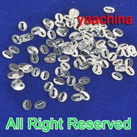 Wholesale A Sterling Silver Findings Italy Italian Silver S925 Oval Hallmark Tag