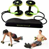 Wholesale Fitness Revoflex Xtreme Abdominal Trainer ABS Workout KIT Resistance Exercise Waist Abdomen Exercise Trainer Retail Package