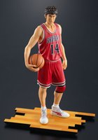 baby dunks - New classical Japanese anime SLAM DUNK Mitsui Hisashi Cartoon action figure model baby toy