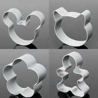 aluminum alloy molds - Aluminum Alloy Multi Shape Cookie Form Cutters DIY Baking Pastry Tools Biscuit Cake Decorating Molds