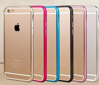 aluminum frame - Protect Cases Ultra thin Metal Aluminum Frame Bumper Case For Apple iphone quot plus quot