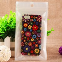 Wholesale Black OPP Plastic Retail Package Bag Size cm for Mobile Phone Accessories Cases