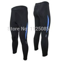 base layer material - men fashion compression tights base layer skins running Fitness bodybuilding Exercise cycling Clothing Lycra Materials