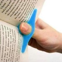 Wholesale 2pcs Practical Plastic Thumb Finger Ring Book Support Holder DIY Book Magazine Marker