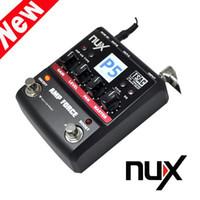 amp modeling - 12 Models Electric Guitar Amplifier Color TFT LCD Panel NUX Guitar AMP Force Modeling Amplifier Simulator