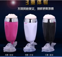 Cheap Hot SELL Hands-free type Silicone Electric Aircraft Cup Adult Sex Supplies Wholesale Male Masturbation Sex Products