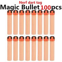 magic bullet - Free shipp dart tag nerf bullet Foam EVA crossed cruciform sticky viscous MAGIC TAPE soft gun bullets darts
