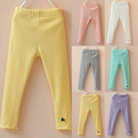 capri pants for girls - The Best Price For Baby Kids Girls Cotton Leggings Lace Stretchy Cropped Capri Pants Trousers Y