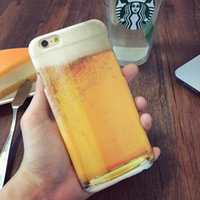 beer foam - Hard Back Shell For iphone s plus Mobile Phone Cases Protection Case Cartoon Cover Beer Foam