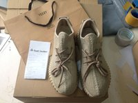 brand tennis bag - Yeezy MoonRock Oxford Tan Boost Men Womens Brand Quality Pirate Black Turtle Dove Running Shoes With Original Box bags Receipts