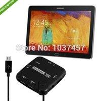 best internal hub - best price I9500 i9220 i9250 i9100 N7100 N5100 Micro USB Host OTG Hub Card Reader