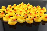 Wholesale 4000pcs New Baby Bath Water Toy toys Sounds Yellow Rubber Ducks Kids Bathe Children Swiming Beach Duck Ducks Gifts