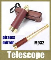 pirate telescope - M932 X30 Brass Scalable To Stretch Zoom Monocular Maritime Nautical Pirate Telescope camera Ship Spyglass Scope Gift vs binoculars OTH096