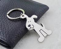 Wholesale 2015 Key chain Spinning Cute Dog Keychain Key Ring Unique Key Chain keyrings zinc alloy key Chain
